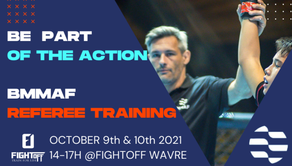 BE PART OF THE ACTION BMMAF REFEREE TRAINING